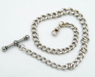 Old pocket watch chain